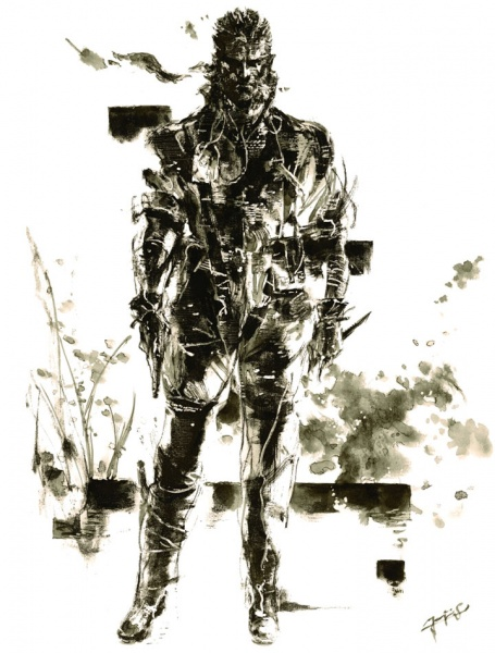 Raiden Mgs2 Hd Metal Gear Solid 3: Sn...