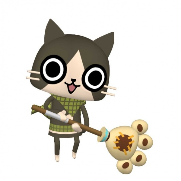 Monster Hunter Diary: Poka Poka Airu Village Concept Art