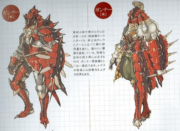 Monster Hunter Freedom 2 Concept Art