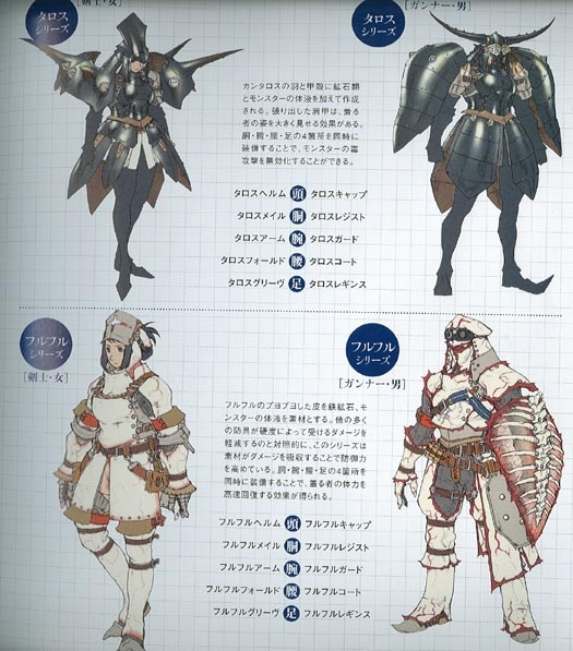 Monster Hunter Freedom 2 Concept Art Neoseeker
