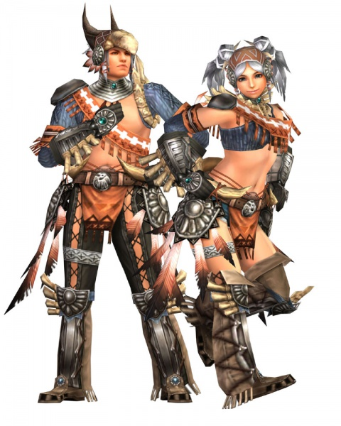 Monster Hunter Frontier Import Concept Art