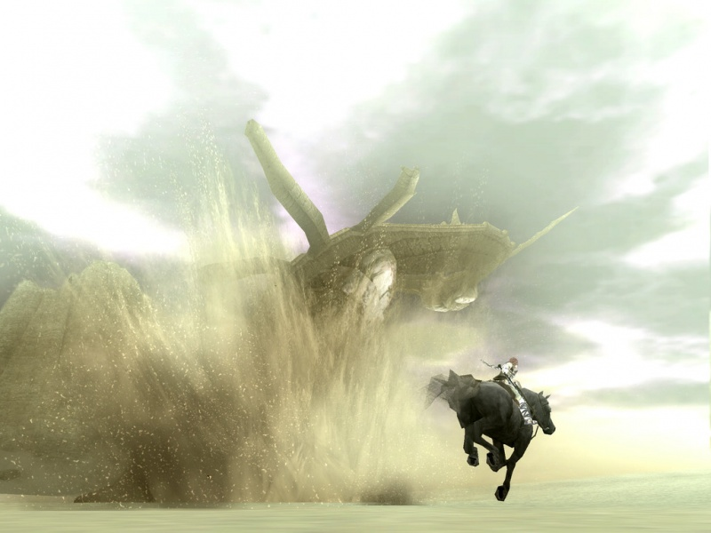 Shadow Of The Colossus Ps4 Wallpaper: Shadow Of The Colossus PS4 Remaster Concept Art