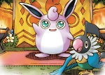 Wigglytuff and Chatot