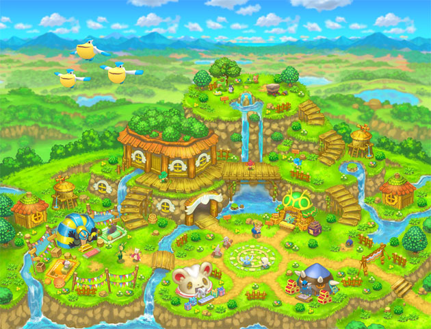 Pok 233 Mon Mystery Dungeon Gates To Infinity Concept Art