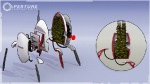 Turret Inner workings - Portal 2 Concept art