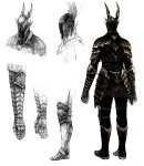 Black Knight - Dark Souls Concept art