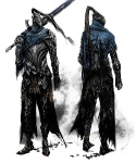 Artorias the Abysswalker - Dark Souls Concept art