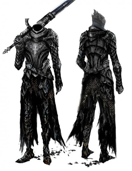 Dark Souls Character Design Process : Dark souls prepare to die edition concept art