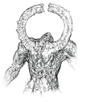 Titanite Demon Back - Dark Souls Concept art