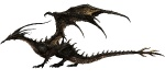 Dragon - Dark Souls Concept art