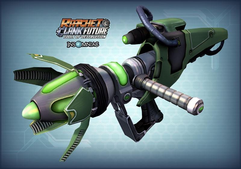 Ratchet Clank Future Tools Of Destruction Concept Art
