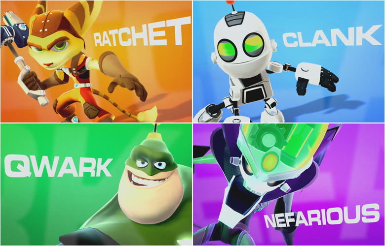 Ratchet & Clank: All 4 One Concept Art