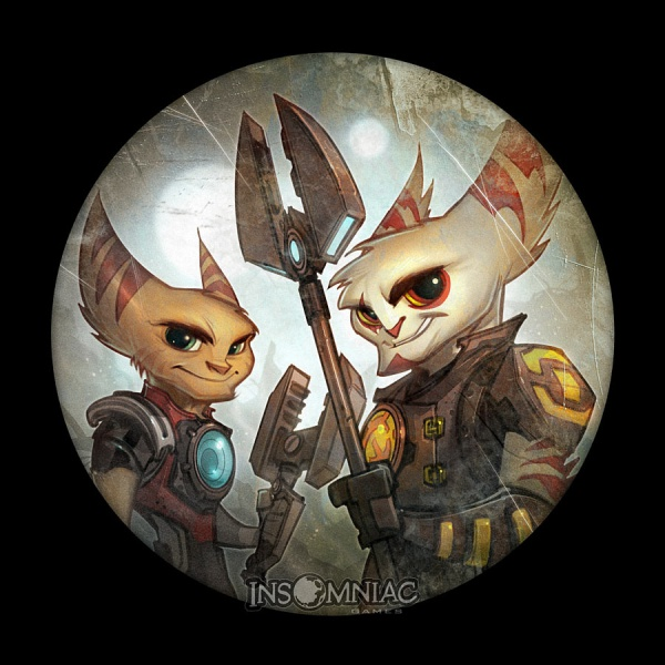 Ratchet Amp Clank Future A Crack In Time Concept Art