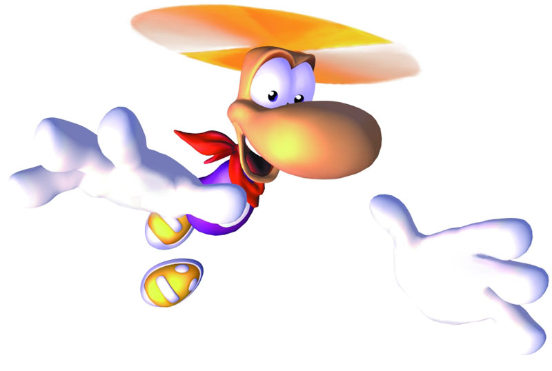 Rayman 2 The Great Escape Concept Art