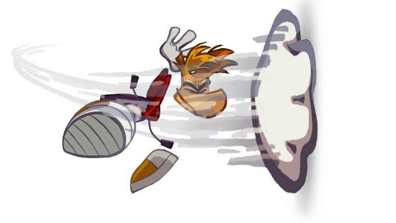 Rayman Origins Character Art