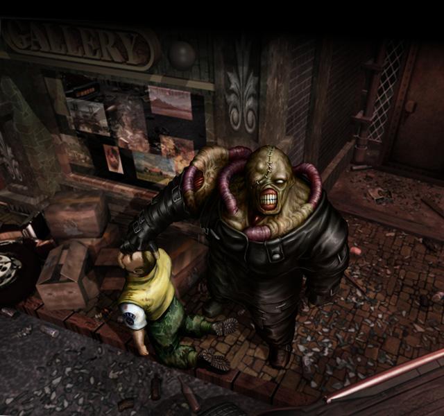 Resident Evil 3 Nemesis Concept Art