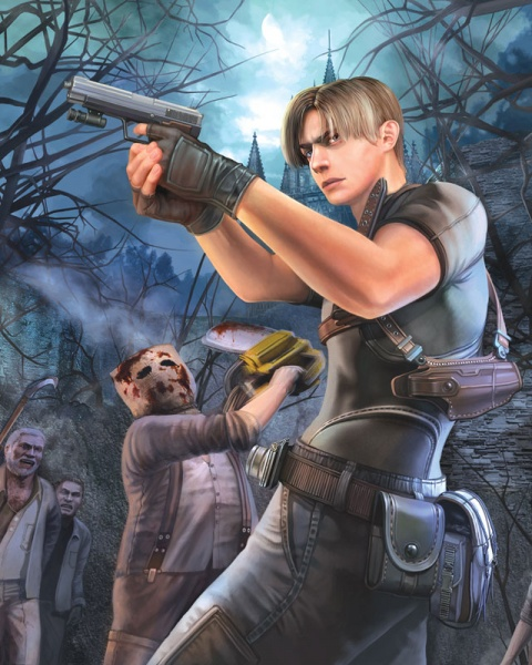 Resident Evil 4 Ultimate Hd Edition Concept Art