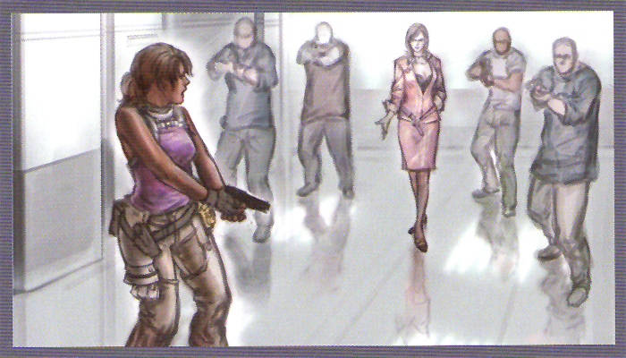 Excella kidnapes Sheva