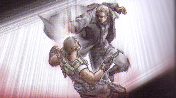 Wesker kicks ass