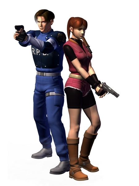 Resident Evil 2 1998 Concept Art