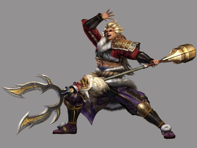 Samurai Warriors 3 Concept Art