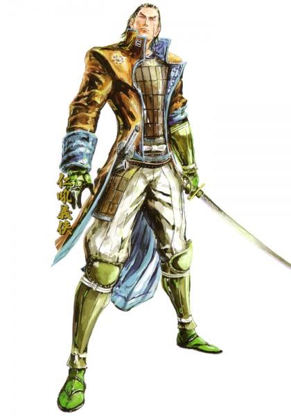 sengoku basara 2 heroes import concept art