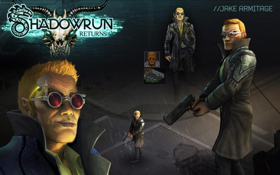 Concept Art Shadowrun Character