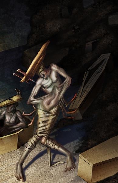 Silent Hill Homecoming Concept Art