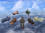 Ship Fleet - Skies of Arcadia Concept art
