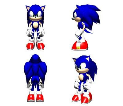 Sonic Adventure Dx Director S Cut Concept Art