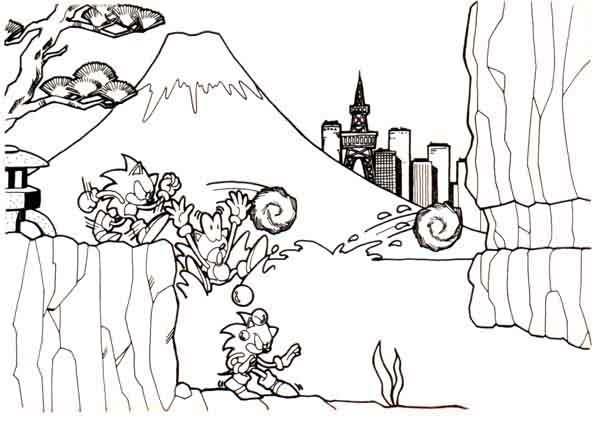 Sonic The Hedgehog Concept Art