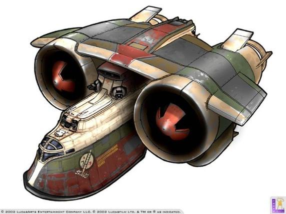 Star wars bounty hunter concept art