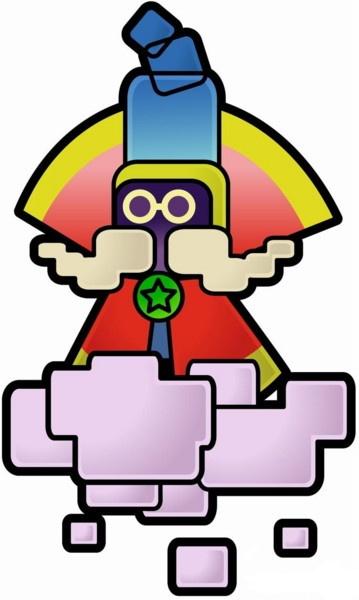 Super Paper Mario Concept Art Neoseeker