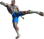 Bruce Irvin - Tekken Tag Tournament 2 Concept art