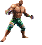 Craig Marduk - Tekken Tag Tournament 2 Concept art