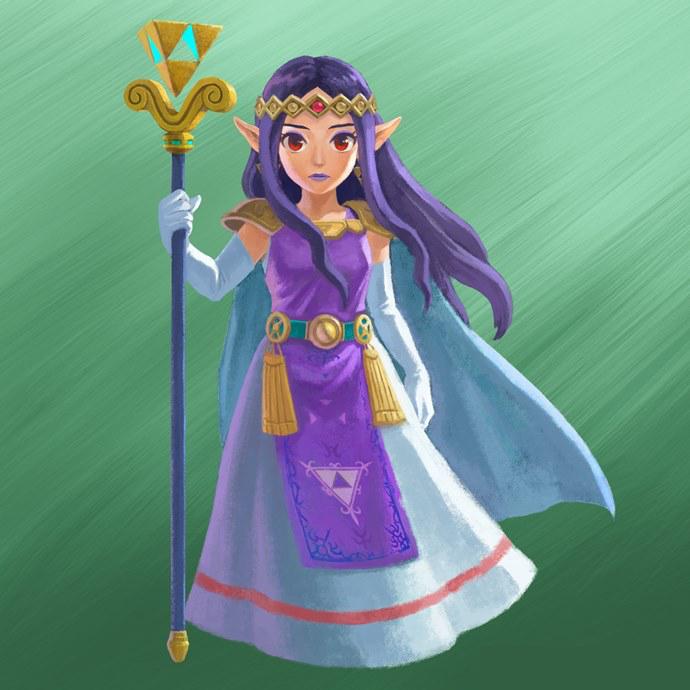 The Legend Of Zelda A Link Between Worlds Concept Art