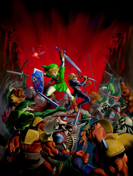 The Legend Of Zelda Ocarina Of Time 3d Concept Art Neoseeker