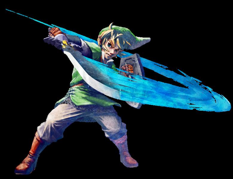 Zelda skyward sword link art