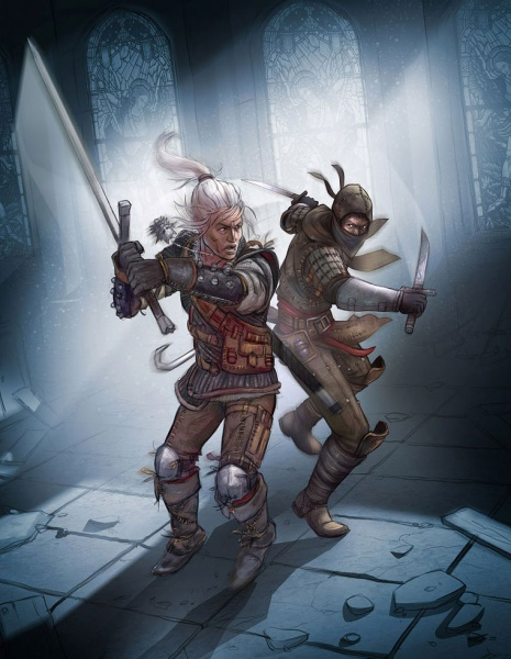 The Witcher 2 Assassins Of Kings Concept Art