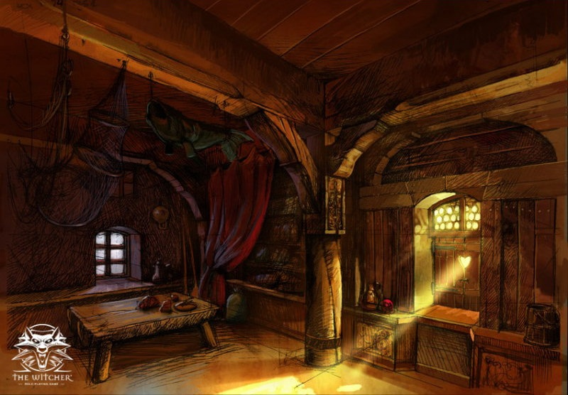 The Witcher Concept Art