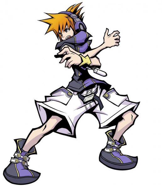 the world ends with you neku sakuraba. Neku Sakuraba - The World Ends