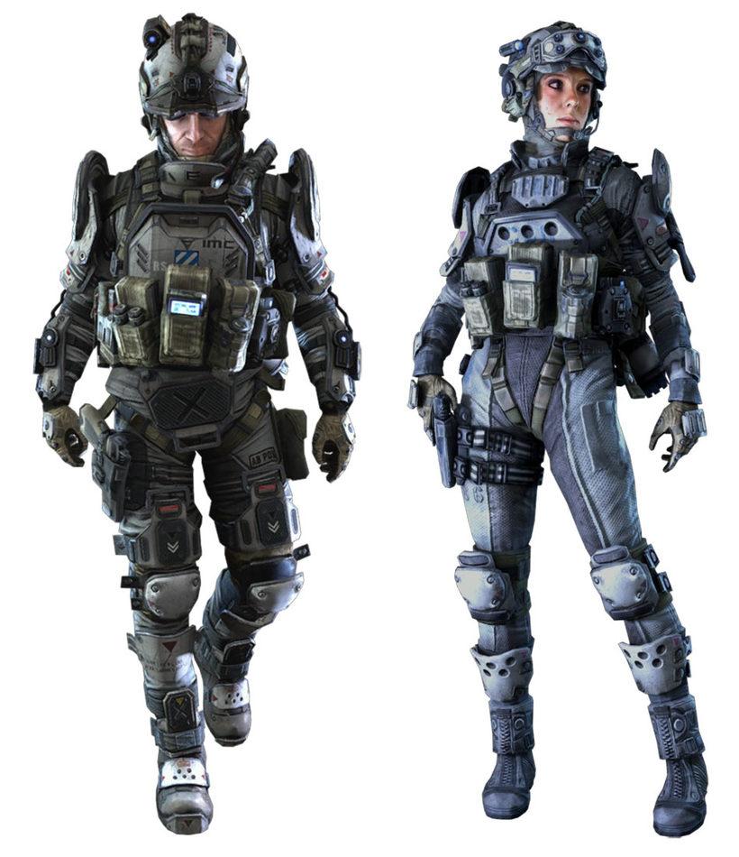 Pilot Titanfall 2 Concept Art