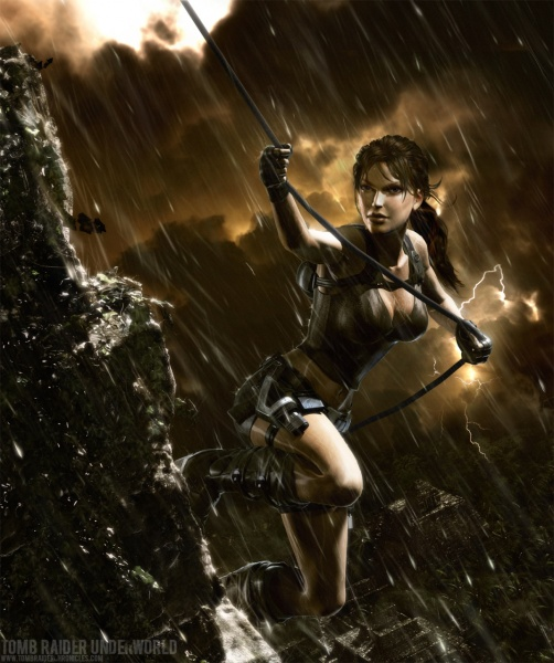 Tomb Raider Underworld Concept Art Neoseeker