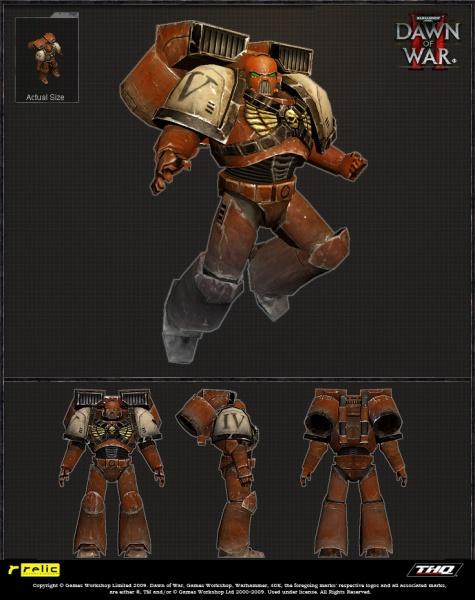 warhammer 40 000  dawn of war ii concept art