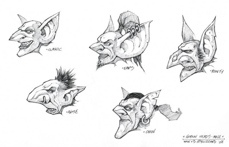 world of warcraft cataclysm goblin. Goblin Males - World of