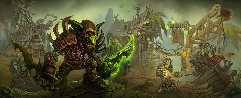 world of warcraft cataclysm. Goblins - World of Warcraft: