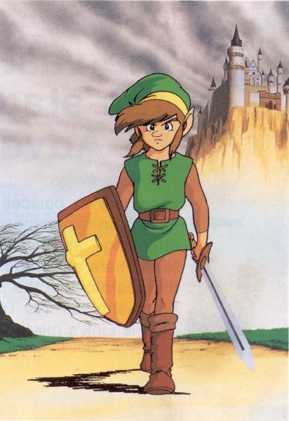 Legend Of Zelda Nes Concept Art
