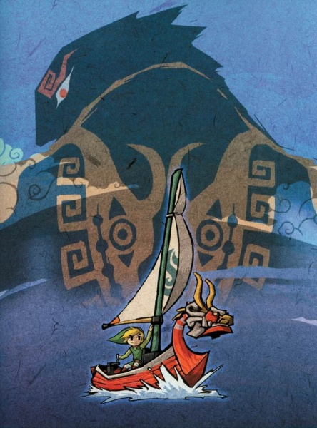 - The Legend of Zelda: The Wind Waker Concept Art