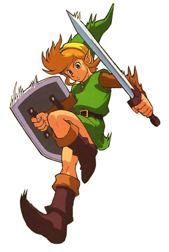 The Legend of Zelda: A Link to the Past (GBA) Concept Art