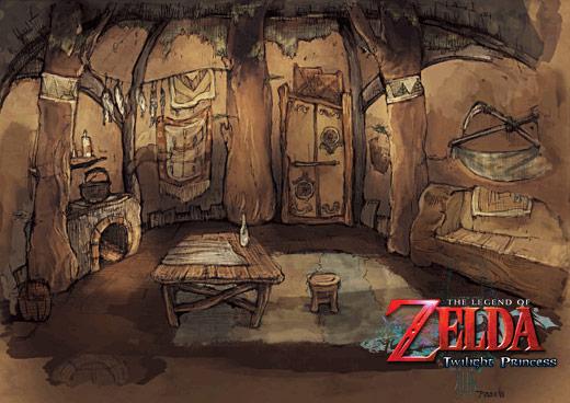 The Legend Of Zelda Twilight Princess Hd Concept Art